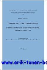 Gottes Schau und Weltbetrachtung. Interpretationen zum »Liber contemplationis« des ...