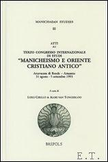 Manichaeism and Early Christianity,: L. Cirillo, A.