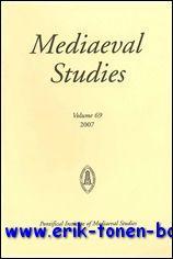 Mediaeval Studies 69 (2007),: N/A;