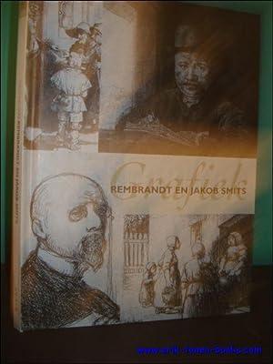GRAFIEK VAN REMBRANDT EN JAKOB SMITS.: HELSEN, Ludo (inl.).