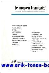 Moyen Français 59 (2006),: N/A;