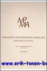 Caucasian Albanian Palimpsests of Mount Sinai Volume III: The Armenian Layer,: J. Gippert (ed.);
