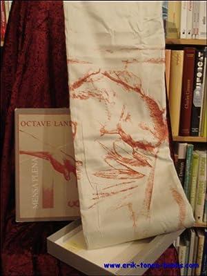 Mensa Plena. Tafelkleed.: Octave Landuyt, Elie Saegerman (tekst).