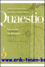 QUAESTIO 2 (2002) La causalità / La causalité / Kausalität / ...