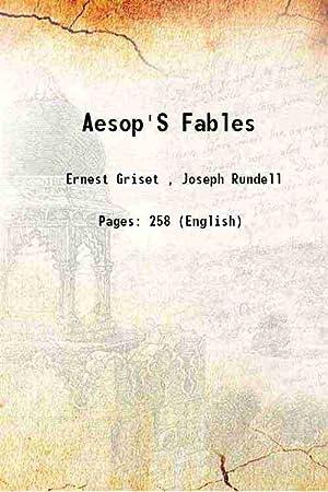 Aesop'S Fables [Hardcover]: Ernest Griset ,