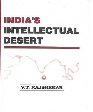India's Intellectual Desert: V.T. Rajshekar