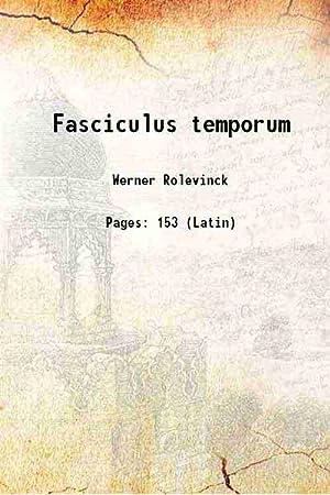 Fasciculus temporum 1480: Werner Rolevinck