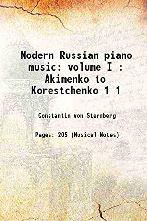 russian piano music - AbeBooks