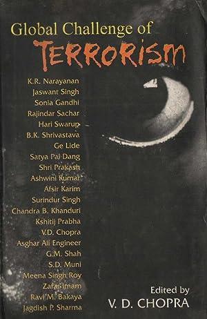 Global Challenge of Terrorism: V.D. Chopra