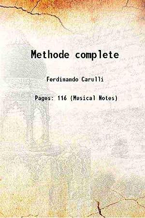 Methode complete [Hardcover]: Ferdinando Carulli