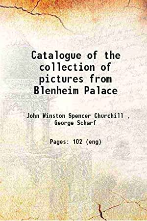 Catalogue of the collection of pictures from: Marlborough, John Winston