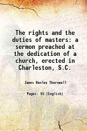 rights duties masters - AbeBooks