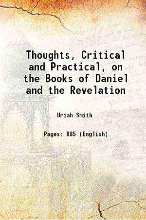 thoughts critical practical daniel revelation - AbeBooks