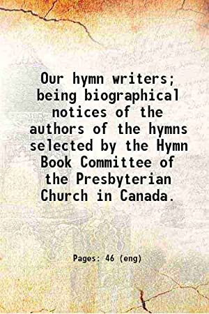 our hymn writers - AbeBooks