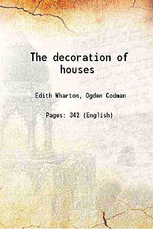 The decoration of houses 1978: Edith Wharton, Ogden