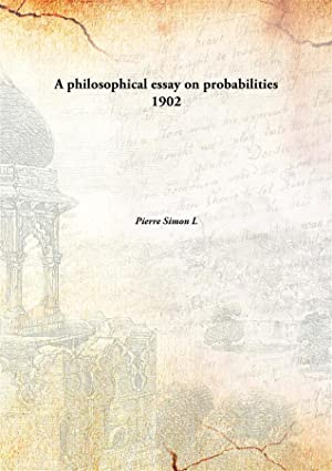 a philosophical essay on probabilities pdf