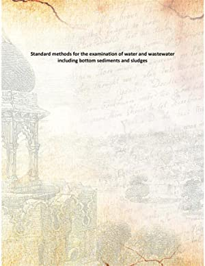 Standard methods for the examination of water: Anonymous