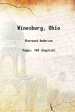 Winesburg, Ohio 1919 [Hardcover]: Sherwood Anderson