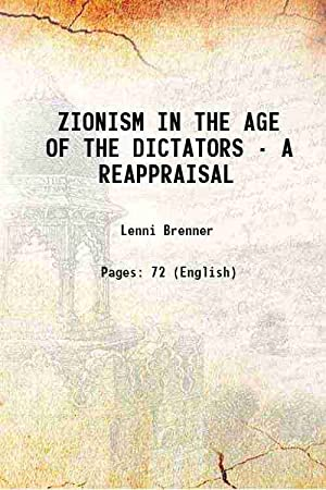 Zionism in the Age of Dictators: A Reappraisal