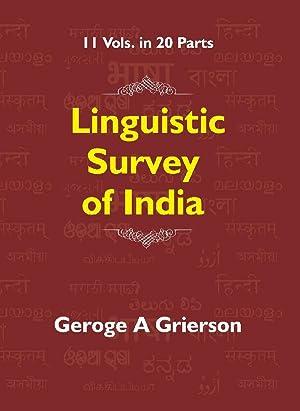 Linguistic Survey of India Volume – V: George A Grierson