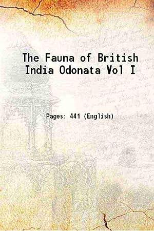 The Fauna of British India Odonata Vol: Anonymous