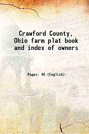 Crawford County, Ohio farm plat book and: Anonymous