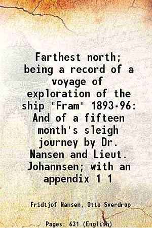 Farthest north; being a record of a: Fridtjof Nansen, Otto