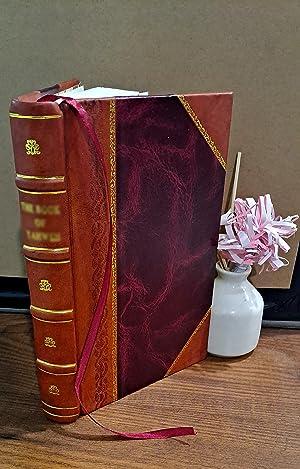 Anatolien: Wirtschaftsgeographie 1902 [Leather Bound]: Rudolf Fitzner