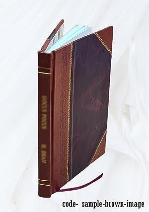 Der menschliche Weltbegriff 1905. (1905)[Leather Bound]: Avenarius Richard