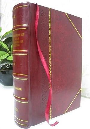 Oeuvres philosophiques Volume 1 1734 [Leather Bound]: La Mettrie, Julien