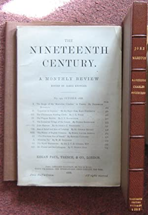 THE NINETEENTH CENTURY. A MONTHLY REVIEW.