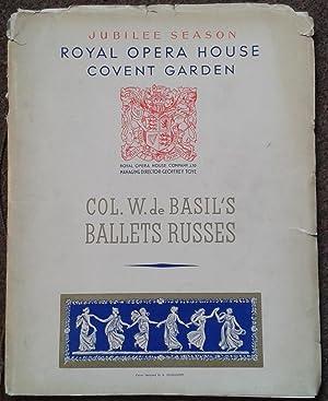 JUBILEE SEASON. ROYAL OPERA HOUSE COVENT GARDEN.: Souvenir Album].