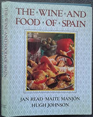 THE WINE AND FOOD OF SPAIN.