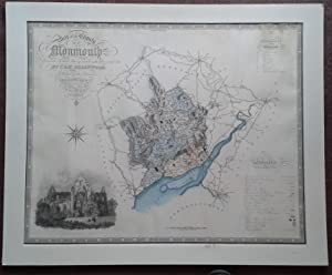 MAP OF THE COUNTY OF MONMOUTH FROM AN ACTUAL SURVEY MADE IN THE YEARS 1829 AND 1830.