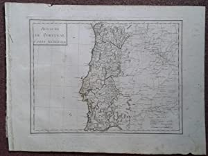 ROYAUME DE PORTUGAL. CARTE GENERALE.