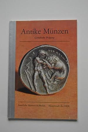 Antike Münzen Griechische Prägung Von Sabine Schultz Ostsee