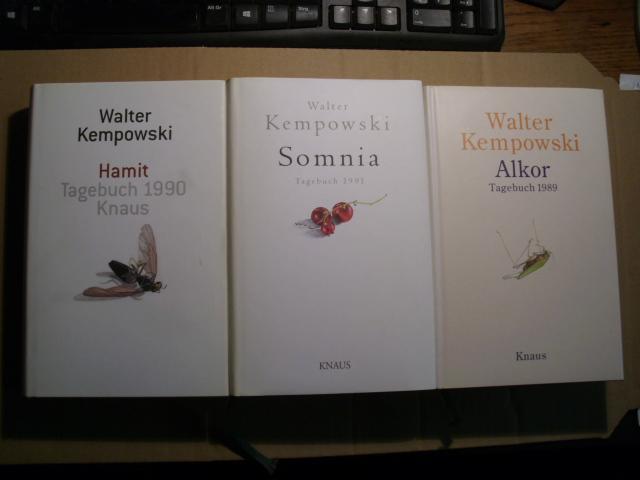 ALKOR - Tagebuch 1989 [ISBN: 3813526046] /: Kempowski, Walter: