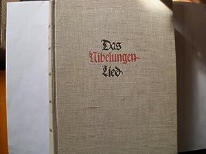 DAS NIBELUNGEN-LIED (= Richard Wagner Gedächtnis-Ausgabe /