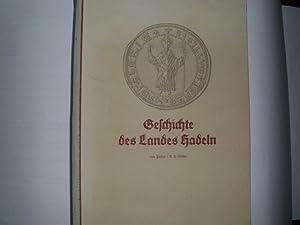 GESCHICHTE DES LANDES HADELN - Aus dem: Rüther, H.: