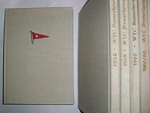 50 JAHRE WESER-YACHT-CLUB BREMERHAVEN Jubiläumsjahrbuch 1956 [1906-1956]