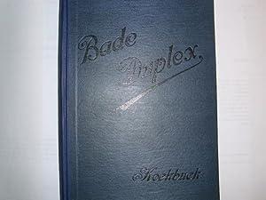 "BADE DUPLEX"" KOCHBUCH: Bade, Hermann [Hrsg.]:"