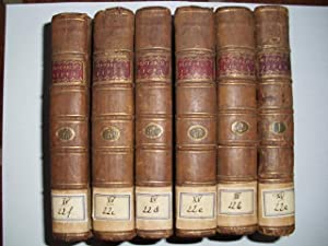 PLUTARCH's LIVES. In six volumes. Translated from