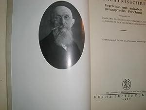 HERMANN WAGNER GEDÄCHTNISSCHRIFT Ergebnisse und Aufgaben geographischer: Autorenkollektiv: