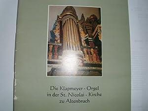 DIE KLAPMEYER - ORGEL IN DER ST.: Schulz, Günther :