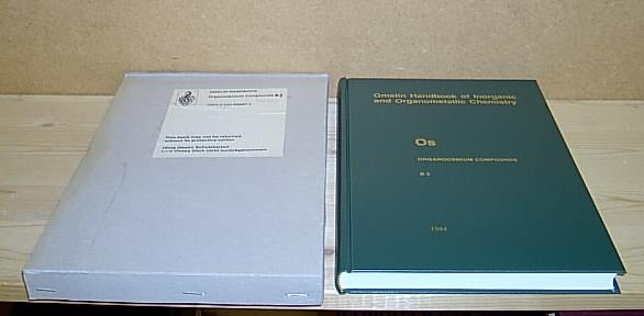 Os. (Osmium / System-Nr. 66). Organoosmium Compounds,: Arnim, Henning von