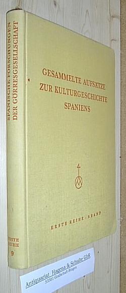 Gesammelte Aufsätze zur Kulturgeschichte Spaniens. 9. Band.: Vincke, Johannes (Hg.):