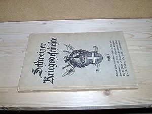 Schweizer Kriegsgeschichte, Heft 1. Mit Armeebefehl von