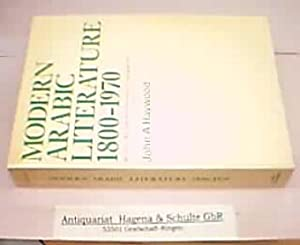 Modern Arabic Literature 1800-1970. An introduction, with: Haywood, John A.: