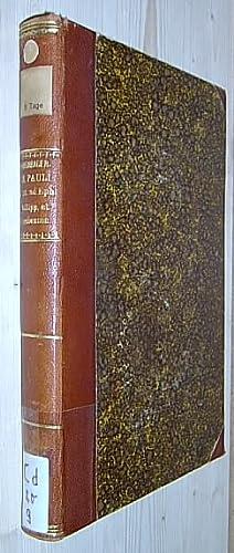 Commentarius in S. Pauli Apostoli Epistolas IV: Knabenbauer, Iosepho.: