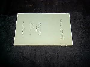 Lexique de la regula magistri. (= Instrumenta: Cappuyns, M. J.